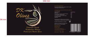Ελιές Καλαμών Αιτωλοακαρνανίας σε άλμη 160-180 συσκευασία 5 κιλών