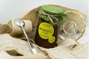 Γλυκό κουταλιού καρπούζι με μέλι (480gr)