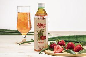 Aloe Vera με γεύση Φράουλα NATURALS 500ml