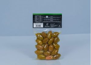 Natural πράσινες ελιές Super Mammouth vaccum 250gr