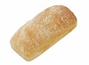 Ψωμί ciabatta 16cm κτψ - Συσκευασία 36 τεμαχίων