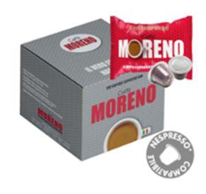 ΚΑΨΟΥΛΕΣ συμβατές nespresso* MORENO 100 CAPS 5GR ποικιλία TOP ESPRESSO