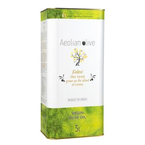 AEOLIAN OLIVE Παρθένο Ελαιόλαδο - Δοχείο 5lt