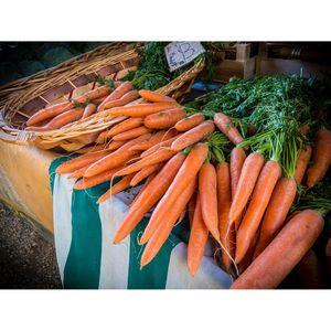 Καρότα με φύλλο φρέσκα 1 κιλό