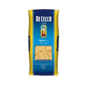 Ζυμαρικά De Cecco Rigatoni No24 500gr
