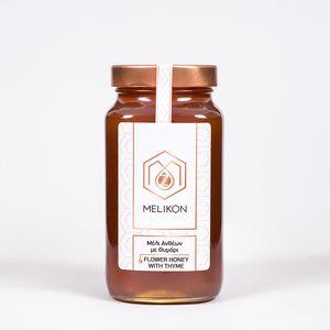 Μέλι Ανθέων με Θυμάρι 370gr/ Μελίκον
