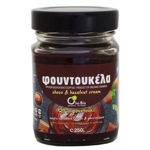 Φουντουκέλα 21% Φουντούκι (χωρίς φοινικέλαιο & ζάχαρη) 6x250gr