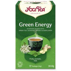 Yogi tea green energy (πράσινη ενέργεια για τόνωση) 6x17φακ