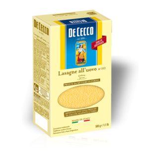 Ζυμαρικά De Cecco Lasagne All'Uovo No112 500gr