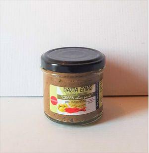 Πάστα Ελιάς πικάντικη 100gr - Συσκευασία 18 τεμάχια