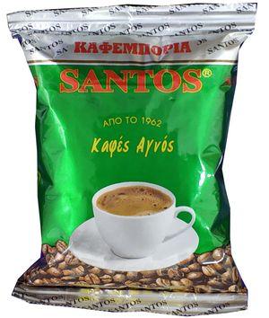 SANTOS EXTRA - Ελληνικός Καφές - 100γρ. (Συσκευασία Κιλού 10 τεμαχίων)