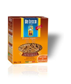 Ζυμαρικά De Cecco Penne Rigate Integrali No41 500gr