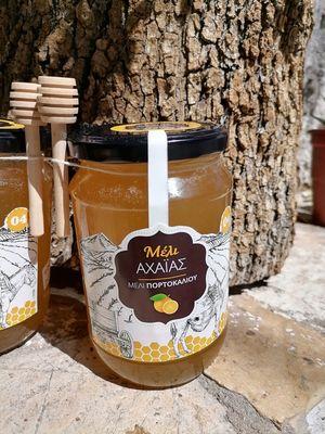 Μέλι πορτοκαλιάς Λακωνίας 1 κιλό
