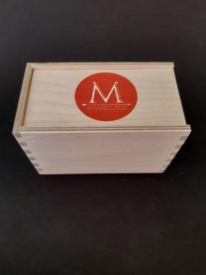 Premium wooden gift of 2 chutney no sugar