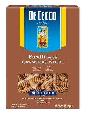 Ζυμαρικά De Cecco Fusilli Integrali No 34 500gr