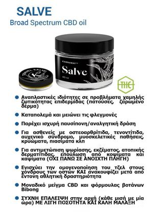 Salve Kannaway 40 ml - 50 mg CBD (Αλοιφή για πόνους & φλεγμονές)