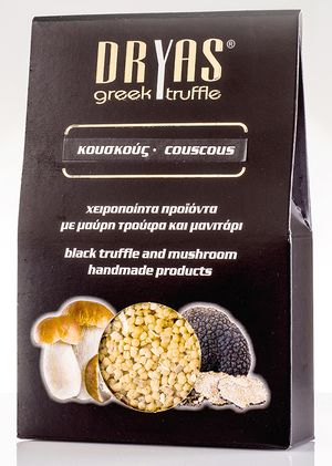 Κουσκούς με μαύρη τρούφα και μανιτάρι πορτσίνι 200gr