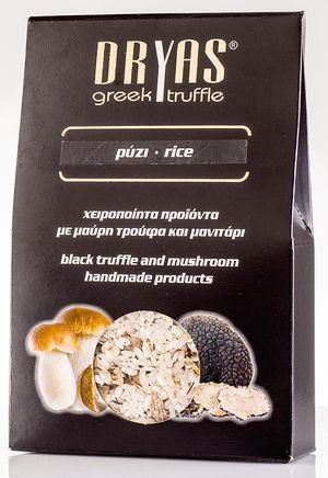Ρύζι με μαύρη τρούφα και μανιτάρι 300gr