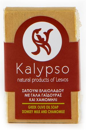 Σαπόυνι Εαλιόλαδου Kalypso με Γάλα Γαϊδούρας