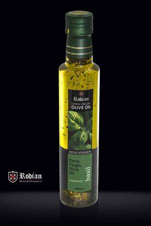 Delicatessen Ελαιόλαδο - με βότανα & μπαχαρικά 250ml - Συσκευασία DORICA
