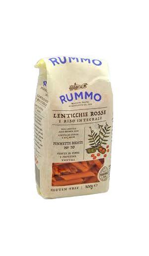 Ζυμαρικά Rummo πένες από κόκκινη φακή 300γρ.