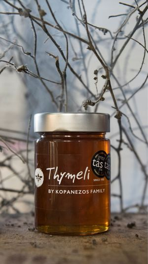 Θυμαρίσιο μέλι Καλύμνου 450γρ.