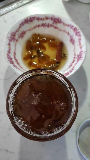 Παραδοσιακό Γλυκό κουταλιού σταφύλι Σαντορίνης