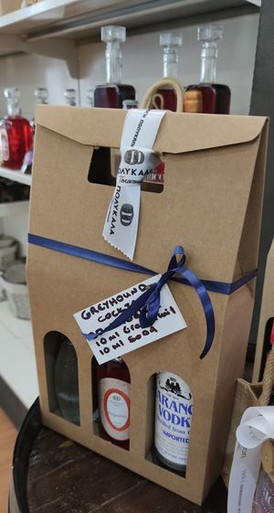 Cocktail Kit Box - Greyhound Cocktail  - Μεγάλη συσκευασία 3 τεμαχίων