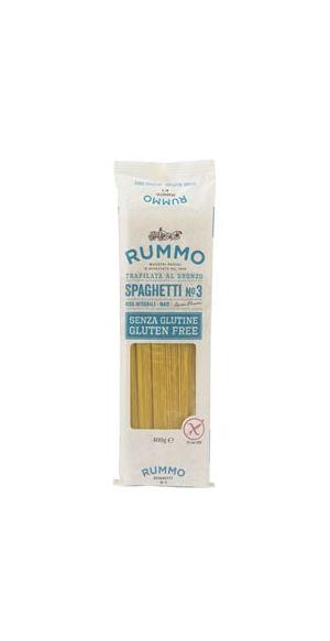 Ζυμαρικά Rummo spaghetti χωρίς γλουτένη No 3 400γρ.