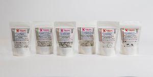 Natural unrefined sea salt -  4 Herbs