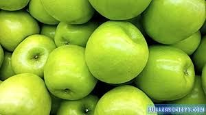 (A) Smith apples in bulk B QUALITY 1kg