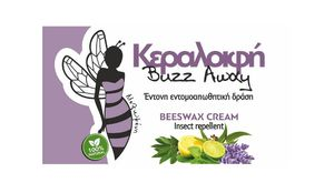 Buzz Away beeswax cream 40ml - Intense Insect repellent action