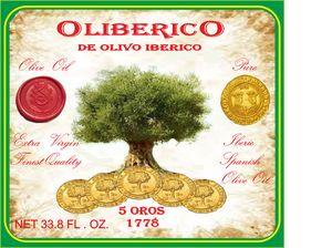 Oliberico Extra Virgin Olive Oil 1L