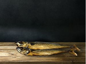Atlantic mackerel (Giant, whole fish) 200gr