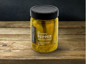 Green Pepper Stuffed With Feta Cheese 314gr