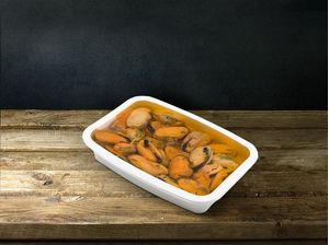 Smoked Mussels (no shell) 210gr