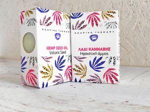 Soap with hemp oil 100gr