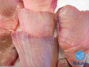 "Spanish Yellowfin Tuna fillet ""Thunnus albacares"" price per kilo"