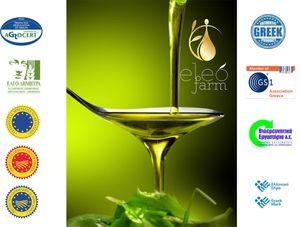 Wooden Souvenir 250ml Extra Virgin Olive Oil PDO by ELEOFARM