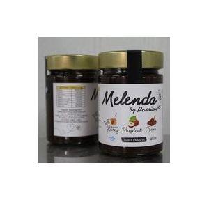 Melenda honey spread with hazelnut paste and cocoa 350gr