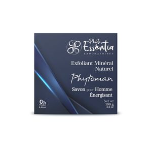 Exfoliating soap for men
