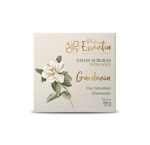 Mild soap with gardenia flower