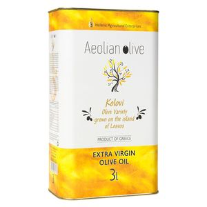 AEOLIAN OLIVE Extra Virgin Olive Oil - Container 3lt