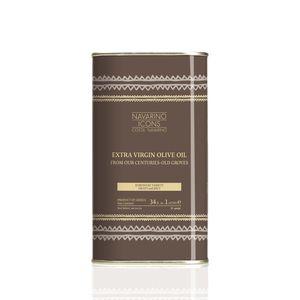 Navarino Icons Extra Virgin Olive Oil 1000ml tin - Koroneiki variety