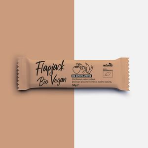 Flapjack Bio Vegan with Oats, hazelnuts, hazelnut butter & agave syrup NATURALS 50g