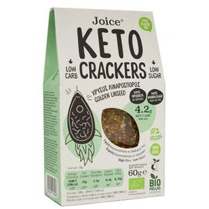 Crackers with flaxseed KETO (without palm oil) 10x60gr