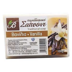 Vanilla soap 100gr