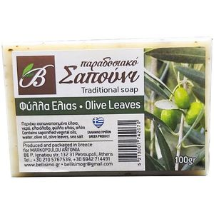 SOAP WITH OLIVE LEAVES 100gr