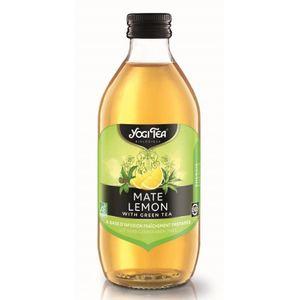 Ice tea Yogi mate lemon (no sugar added) 10x330ml