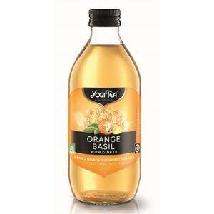 Ice tea Yogi orange basil ginger (no sugar added) 10x330ml